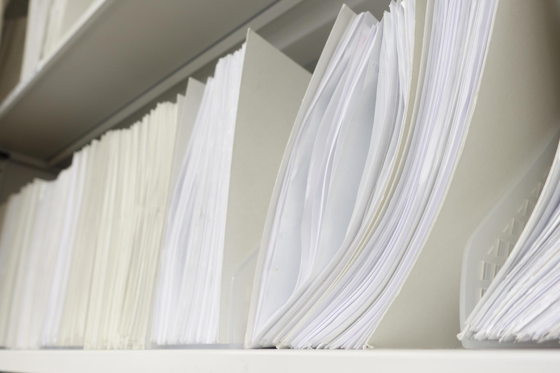 大量の資料スキャンはtiff形式が便利